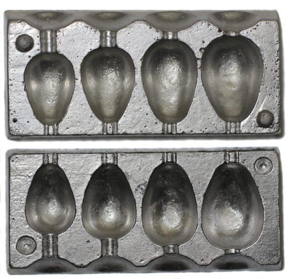 Pear 4 in 1 lead mould-0