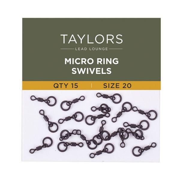 Micro Ring Swivels Size 20-0