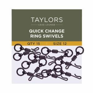 Quick Change Ring Swivels Size 12-0